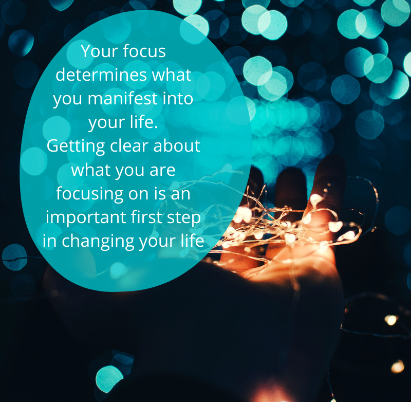 Your Focus Determines what you manifest